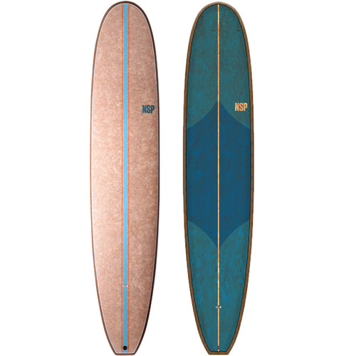 Cocoflax Endless Longboard | NSP | Malibu Surfboard | Classic Style & Hanging 10