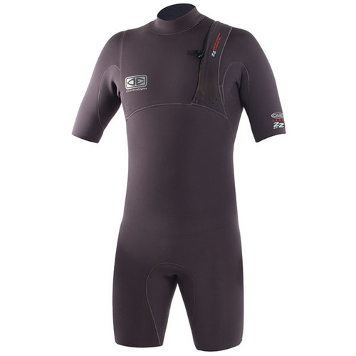 Ocean and Earth Zero Zip Springsuit 2mm | Surfing Wetsuit | Mens | Charcoal