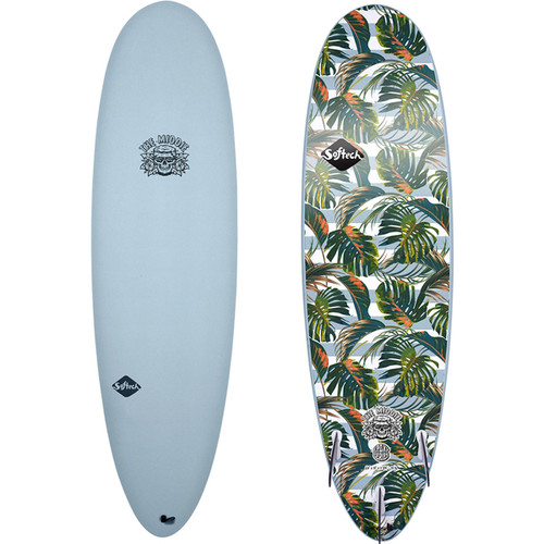 Softech | The Middie | Tropical | Fun Shaped Allrounder - Suits All Levels of Surfer