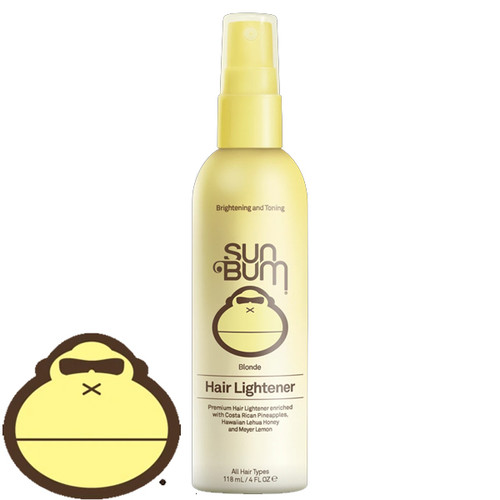 Sun Bum Blonde Hair Lightener. Yellow Fade to White bottle. Brown writing. Buy Online in Australia www.surfshopsaustralia.com.au