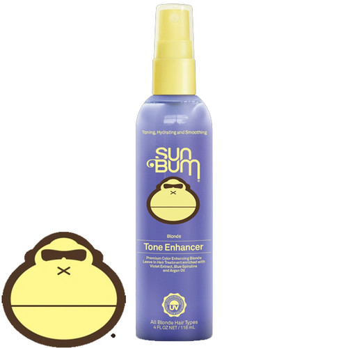 Sun Bum Blonde Tone Enhancer   118ml   Remove Brassiness   Sun Kissed Beach Hair