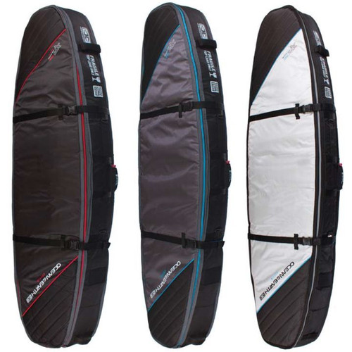 Double Coffin Shortboard Travel Cover | 1 to 3 Surfboards