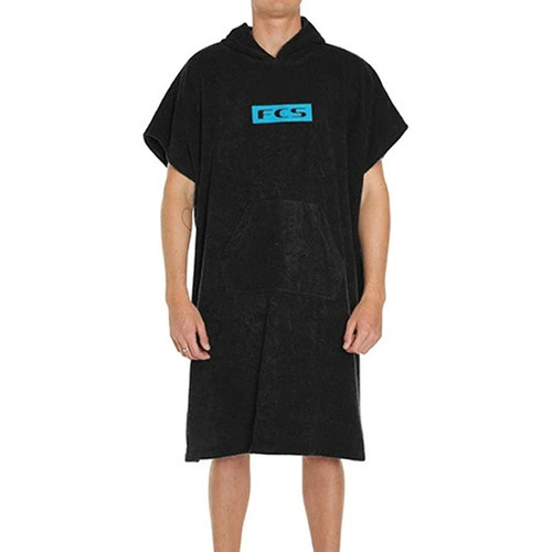 FCS Kid's Hooded Towel Poncho | Black | FCSII | Youth Size
