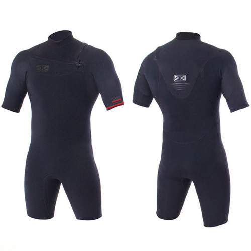 Double Black Springsuit 2mm | Chest Zip | Black | Spring Suit | Ocean and Earth | Surfing Wetsuit