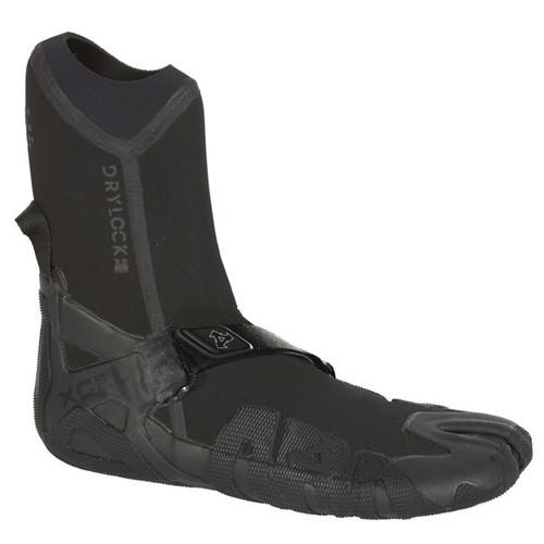 Mens Drylock Split Toe Wetsuit Bootie 3mm   Celliant Black   Black   Xcel Wetsuits