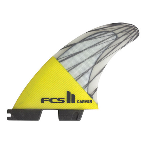 FCSII Carver | Thruster Fin Set | Performance Core Carbon | Big Turns Off The Bottom | FCS 2