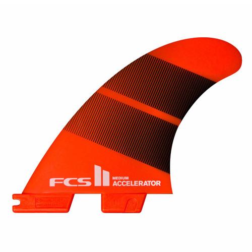 FCS 2 Accelerator | Thruster (3) Fin Set | Neo Glass | FCS II Surfboard Fins