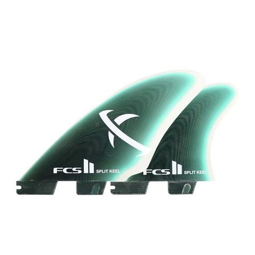 FCS 2 Matt Biolos Keel Quad Fin Set | Performance Glass