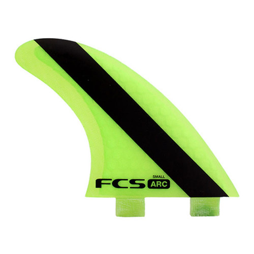 FCS ARC Small | Thruster Fin Set | Performance Core