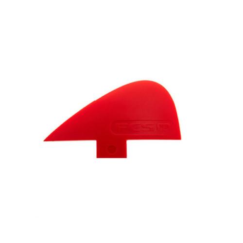 FCS Knubster VS Keel | Specialty Fin | Glass Flex | Red