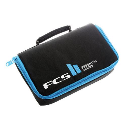 Shortboard Fin Wallet |  Black/Blue