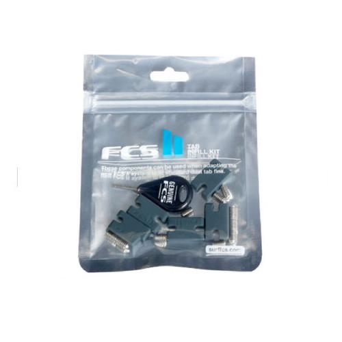 FCS 2 Compatibility Kit |  Tab Infills Grub Screws | Turn FCSII into twin tab