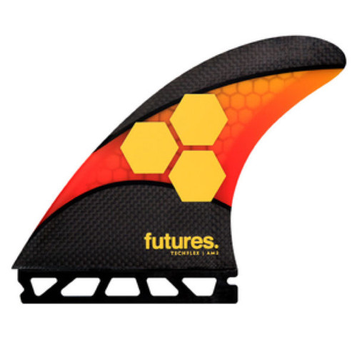 AM2 Large Thruster Fin Set | TechFlex | Futures Fins