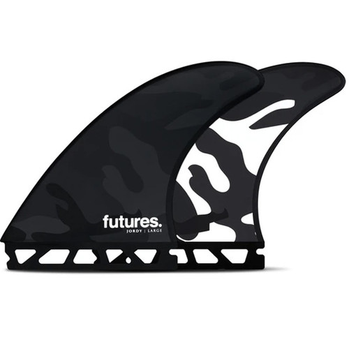 Jordy Smith Large Thruster 3 Fin Set | Futures Fins | For Powerful or Heavy Surfers
