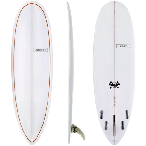 Love Child | Modern Surfboards | Beautiful Longboard Shaped Mini Mal Mixed With A Performer Attitude