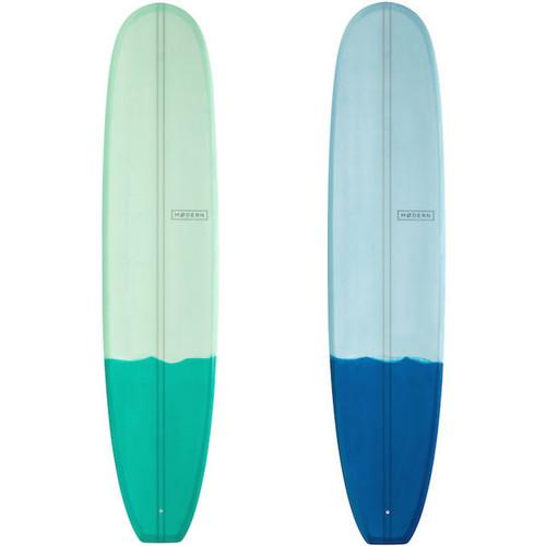 Retro Longboard    Fibreglass   Modern Surfboards   Old School Style Malibu