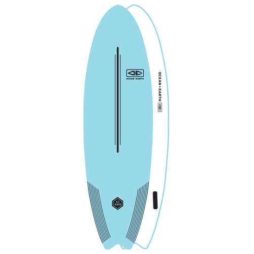 EZI-Rider Softboards   Ocean and Earth   Suitable For Beginners   Foam Surfboard