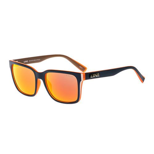 Bronte | Navy / Orange | Orange Revo Lens | Sunglasses | Sunnies | Liive