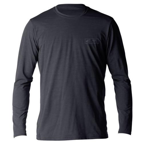 Xcel Ventx Pacific | Long Sleeve UV Surf Tee | Relax Fit | Rashie | Rash Vest | Heathered Black
