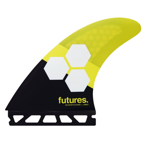 AM2 Large | Thruster Fin Set | Honeycomb | Futures Fins | Ideal For Big Carves