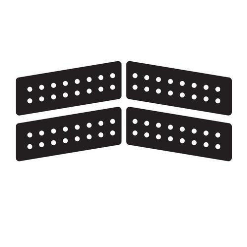 Boomerang Pad 4 Piece | Black