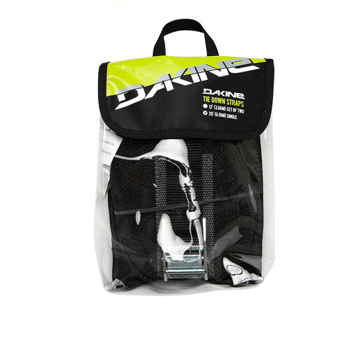 Dakine Single Tie Down Strap 6 metres | Black | Surf Travel Essentials