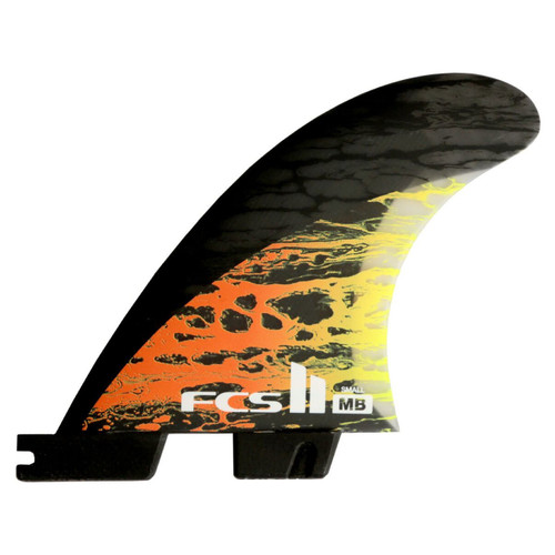 FCS 2 Matt Biolos Small | Thruster Fin Set | Performance Core Carbon