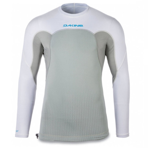 Storm Snug Fit Long Sleeve UV  Padded Rashguard | White