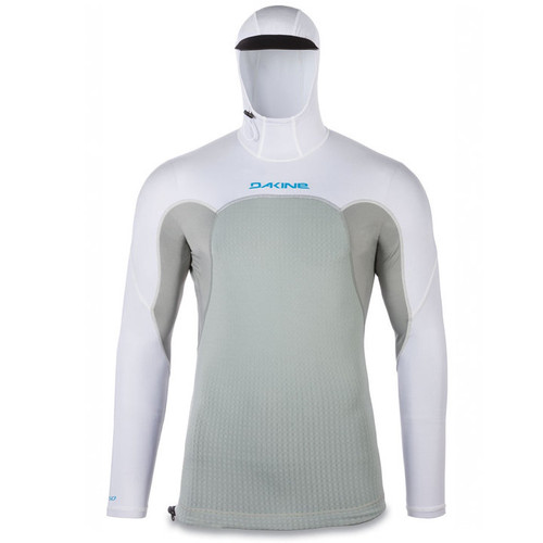 Storm Snug Fit Long Sleeve Hooded UV  Padded Rashguard | Surfing Rashie | Surf Rash Vest