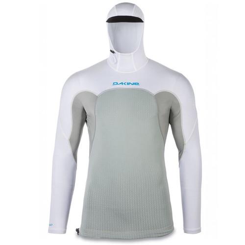 Storm Snug Fit Long Sleeve Hooded UV  Padded Rashguard | Surfing Rashie | Surf Rash Vest