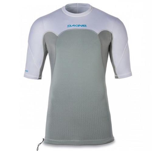 Storm Snug Fit Short Sleeve UV  Padded Rashguard | White