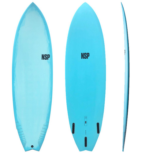 Fish Surfboard | NSP | Protech Epoxy Construction | Ideal Progression Model