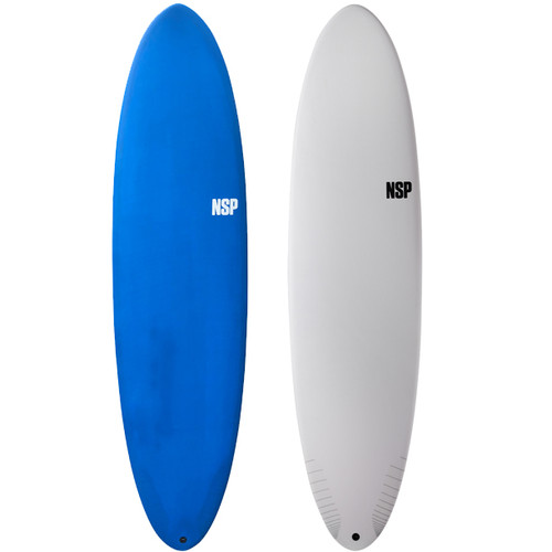 Funboard Surfboard | Mid Length | Mini Mal | NSP Protech | Progressing Your Skills