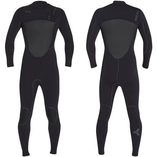 Drylock X Power Seam Steamer 3:2mm   Chest Zip   Black   Xcel Wetsuits   The Best Surfing Wetsuit Recent Release
