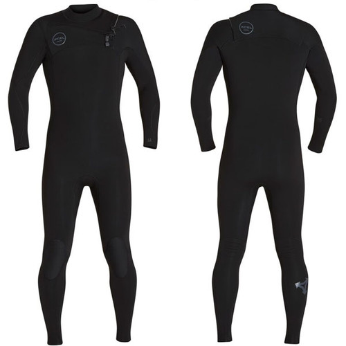 Comp X TDC Steamer 4:3mm | X2 Chest Zip | Black/Murd | Xcel Wetsuits