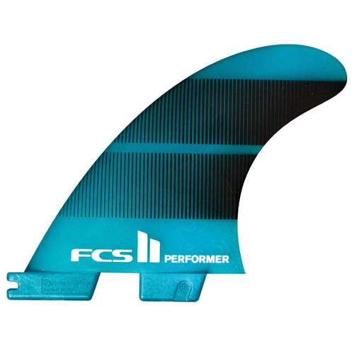 FCSII Performer | Thruster 3 Fin Set | Neo Glass | All Round FCS 2 Surfboard Fin |