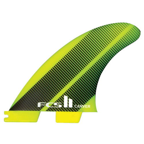 FCS 2 Carver | Thruster Fin Set | Neo Glass