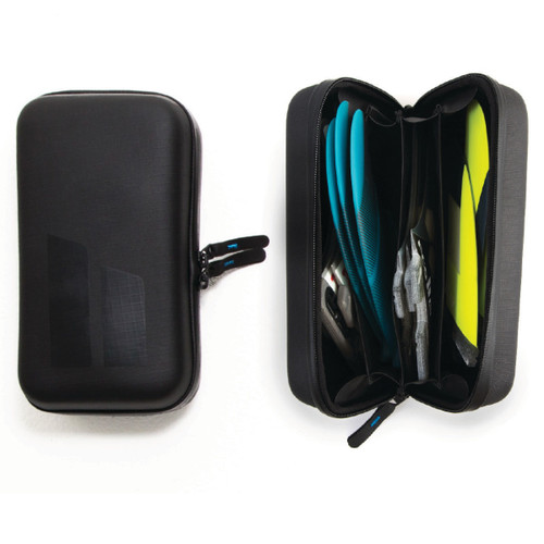 Surfboard Fin Case 4 Sets |  Black | Surf Fin Wallet