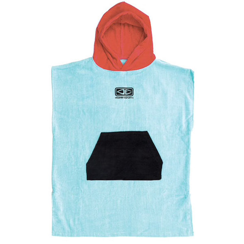 Toddlers Hooded Towel Surf Poncho | Blue | Groms | Kids