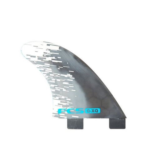 FCS G-XQ | Quad Rear Fin Set | Performance Core | Blue Smoke