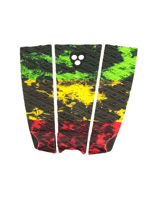 Gorilla Grip Rasta | Tail Pad | Surfboard Deck Grip | Traction Pad