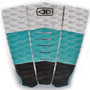 Blazed Tail Pad |  Surfboard Deck Grip | Ocean and Earth | Traction Pad | Surfing Tailpad |