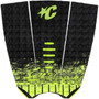Mick Fanning Tail Pad | Lime Fade | Surfing Deck Grip | Creatures of Leisure | Surfboard Traction Pad