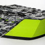 Reliance III Tail Pad | Creatures of Leisure | Surfing Deck Grip | Traction Pad | Lime Camo
