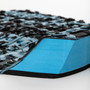Reliance III Tail Pad | Creatures of Leisure | Surfing Deck Grip | Traction Pad | Cyan Camo