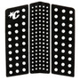 Front Deck III   Front Foot Pad   Black   Surfboard Traction Pad   Deck Grip for Surfing   Creatures of Leisure
