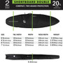DT2.0 Double Shortboard Travel Cover | Creatures of Leisure | Highest Protection | Fits 2 Boards