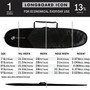 Icon Lite Longboard Cover   Creatures of Leisure   Basic Level Protection