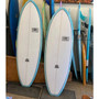 Joy Flight Surfboard | Ocean and Earth | Fibreglass | 5 Fin Boxes | Great Volume - Small Wave Funboard