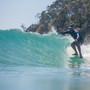 Sleepwalker Longboard | Fibreglass | Single Fin Setup | NSP Surfboards | Classic Style Malibu